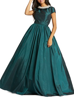 Mac Duggal Taffeta Ball Gown