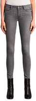 AllSaints Mast Skinny Jeans, Washed Grey