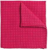 Charles Tyrwhitt Pink Linen Spot Classic Pocket Square