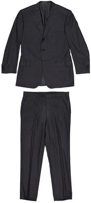 Corneliani Grey Wool Suits