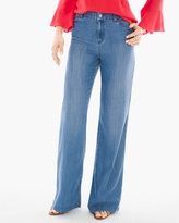 Chico's Platinum Wide-Leg Trouser Jeans