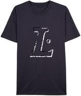Lanvin Navy Cotton T-shirt