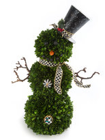 Mackenzie Childs MacKenzie-Childs Snowman Topiary