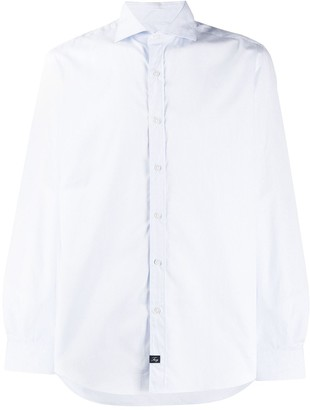 Fay regular-fit plain shirt