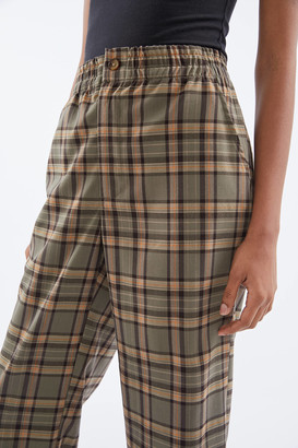 Urban Renewal Vintage Remnants Plaid Pull-On Suiting Trouser