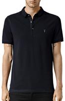 Allsaints Allsaints Reform Short Sleeve Slim Polo Shirt