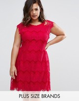 AX Paris Plus Lace Dress