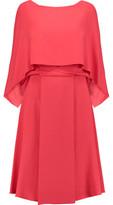 Vionnet Layered Crepe Dress