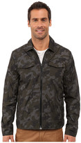 Calvin Klein Jeans Zip-Front Trucker Camo Jacket