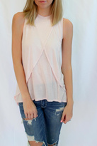 LAmade Blush Pink Sleeveless Top