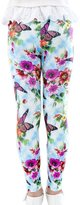 Panda Superstore Georgeous Butterfly Girls Legging Printed Tights, 7-8X