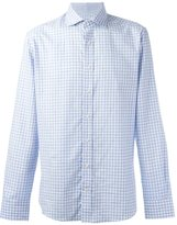 Hackett checked button down shirt