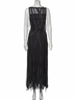 Chanel Vintage Long Dress Grey
