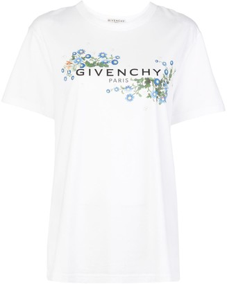 Givenchy floral print oversized T-shirt