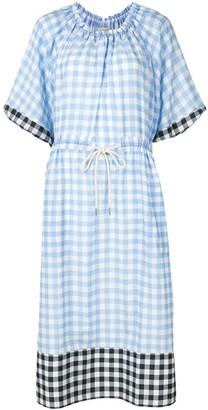 Lee Mathews Check Dress