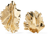 Annelise Michelson Sea Leaves Gold-plated Clip Earrings - one size