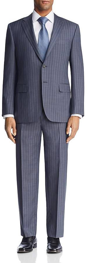 Canali Beaded Multi Stripe Regular Fit Suit