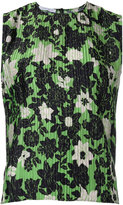 Christian Wijnants sleeveless floral top - women - Polyester - 34