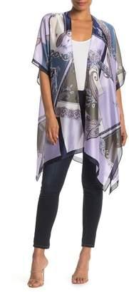 Roffe Accessories Paisley Printed Kimono