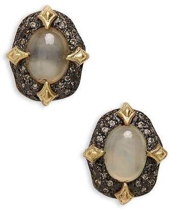 Armenta Old World Petal Stud Earrings