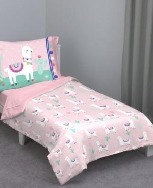 Everything Kids Llama 4-Piece Toddler Bedding Set Bedding