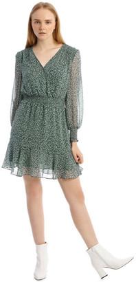 Tokito Long Sleeve Shirred Detail Dress