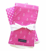 Sweet Seraphina Anchor Burp Cloths
