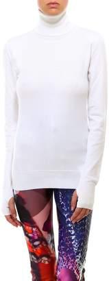 MM6 MAISON MARGIELA Slash Detail Turtleneck Sweater