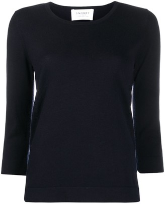 Snobby Sheep Scoop Neck Knitted Top