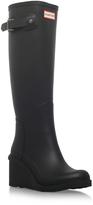 Hunter Orig Refined Wedge-sole