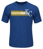 Kansas City Royals Men's Charcoal Heather Synthetic T-Shirt