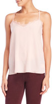 Jessica Simpson Lace Trim T-Back Camisole