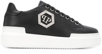 Philipp Plein Lo-Top Crystal sneakers