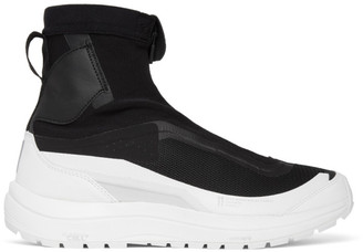11 By Boris Bidjan Saberi Black Salomon Edition Bamba 2 High-Top Sneakers