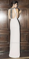 Tarik Ediz Leatrix Evening Dress