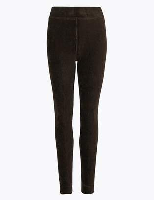 M&S CollectionMarks and Spencer Corduroy Slim Fit Ankle Grazer Leggings