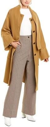 Tory Burch Chelsea Wool-Blend Coat