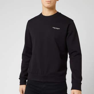 Armani Exchange Men's Small Chest Logo Sweatshirt