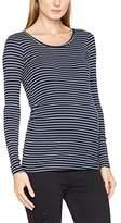 Mama Licious MAMALICIOUS Women's Mlmind L/s Jersey Rib Long Sleeve Top,(Manufacturer Size: X-Large)