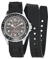 Lulu Castagnette Women's Watch Analogue Quartz Silicone 38744