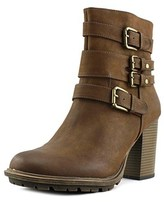 Weatherproof Scooter Round Toe Synthetic Ankle Boot.