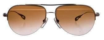 Chrome Hearts Stains Aviator Sunglasses