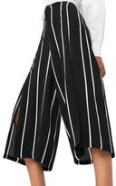 MANGO Cropped Striped Pants