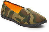Olive Night Camouflage Slip-On Sneaker