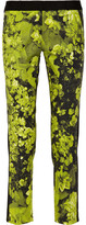 MICHAEL Michael Kors English Garden floral-print stretch-cotton pants