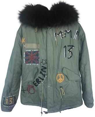 Green Cotton Jane & Tash Bespoke Coats