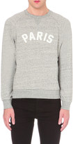 Sandro Paris cotton-jersey sweatshirt