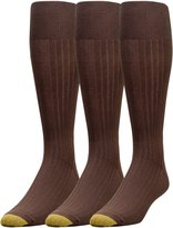 Gold Toe Men's Canterbury Over the Calf Dress Sock