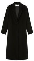 Gerard Darel Gabriel Wool Coat, Black