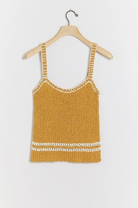 Anthropologie Ilori Textured-Tank Top